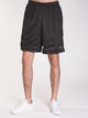 MENS CLASSIC MESH SHORT - GRANITE