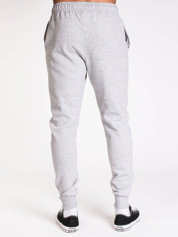 MENS POWERBLEND SCRIPT JOGGER-GY