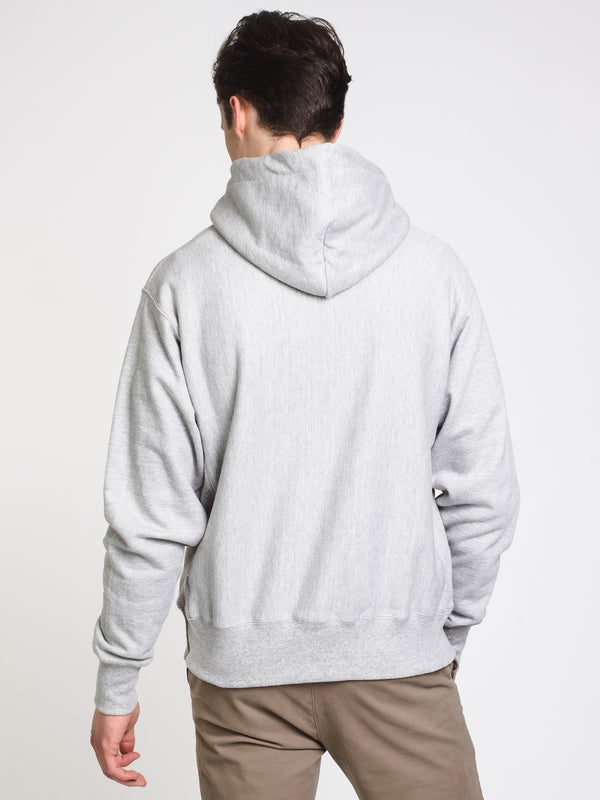 MENS RW PULLOVER HOODIE - OXFORD GREY
