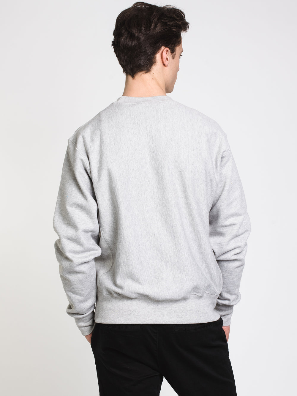 MENS RW CREW - OXFORD GREY