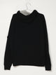 MENS PB SCRN PRN PULL OVER HD - BLACK