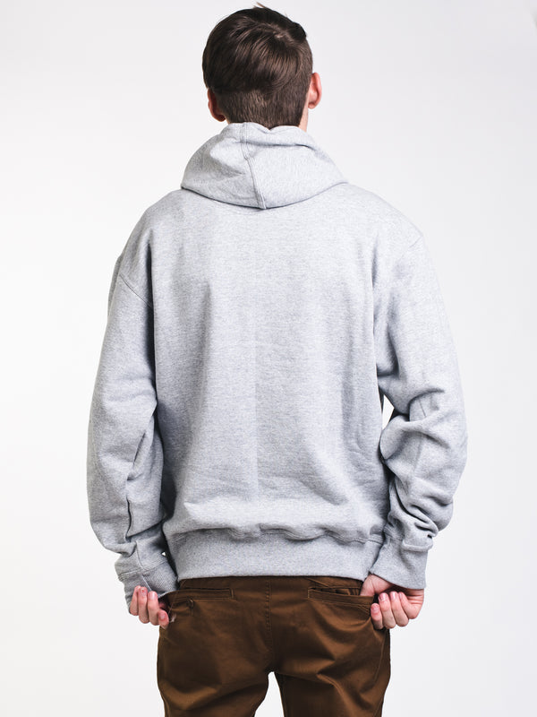 MENS GRAPHIC PWRBLND F/Z HOODIE- GRY