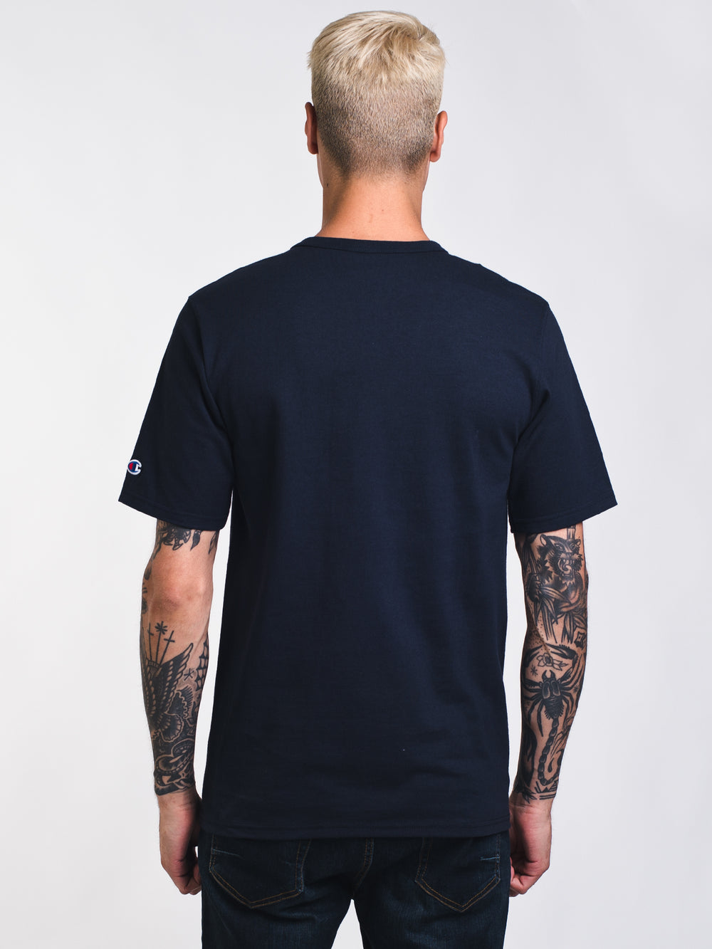 MENS HERITAGE SHORT SLEEVE T-SHIRT - BLACK