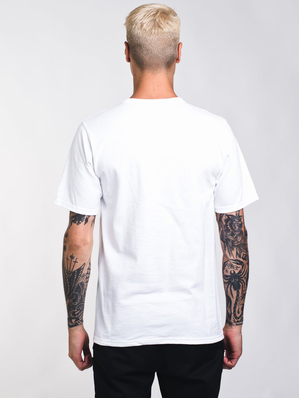 MENS HERITAGE INK SHORT SLEEVE T-SHIRTEE - WHT