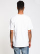 MENS HERITAGE SHORT SLEEVE T - WHITE