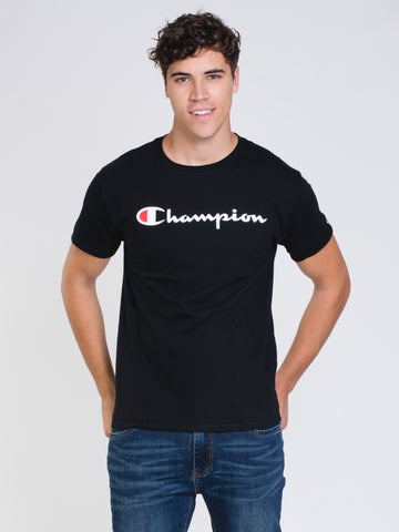 29db84de CHAMPION. MENS GRAPHIC SHORT SLEEVE T-SHIRT ...