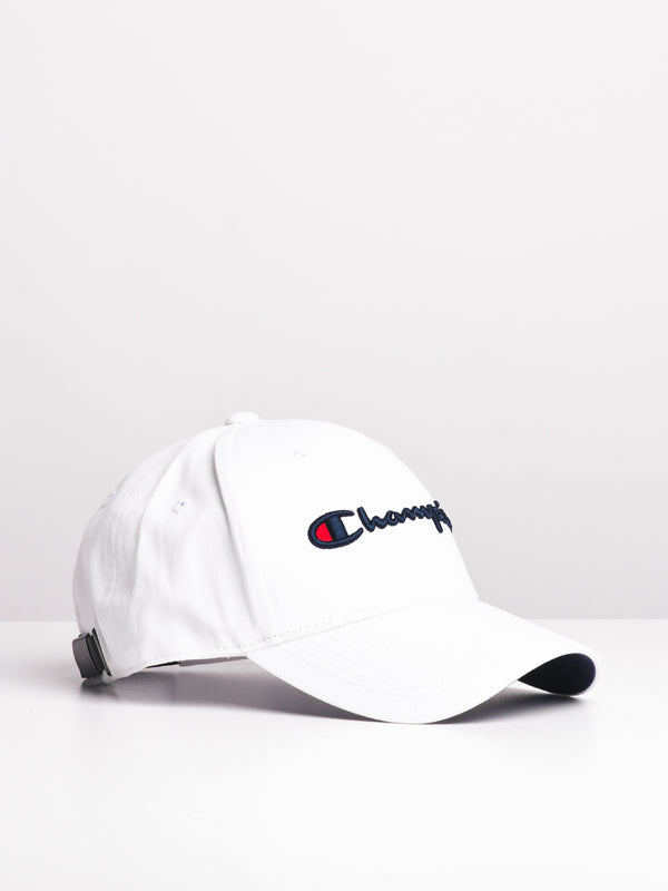 CLASSIC TWILL HAT - WHITE