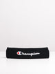 TERRY HEADBAND - BLACK