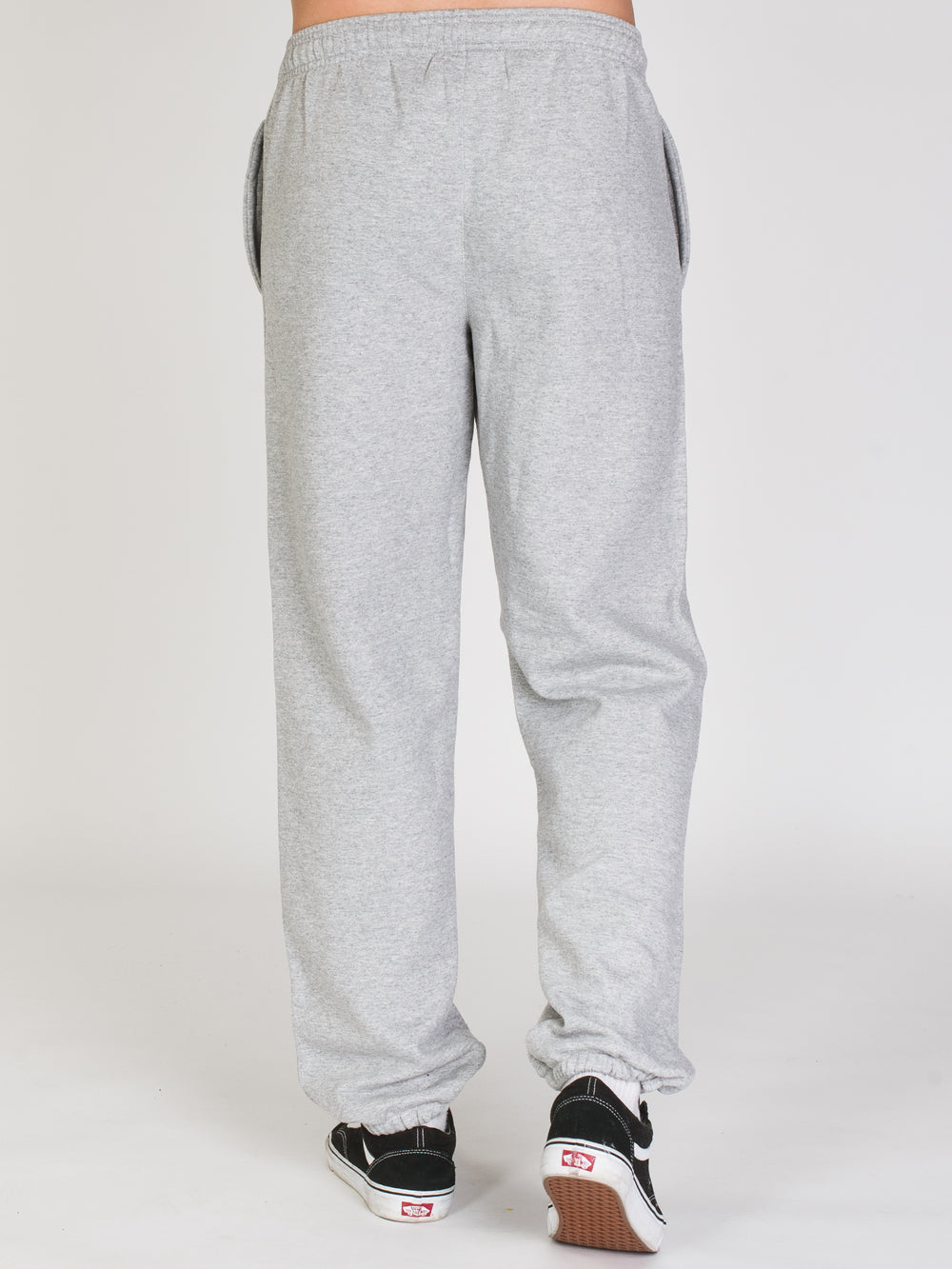 MENS PB FLEECE RELAXED BTM - OX GREY