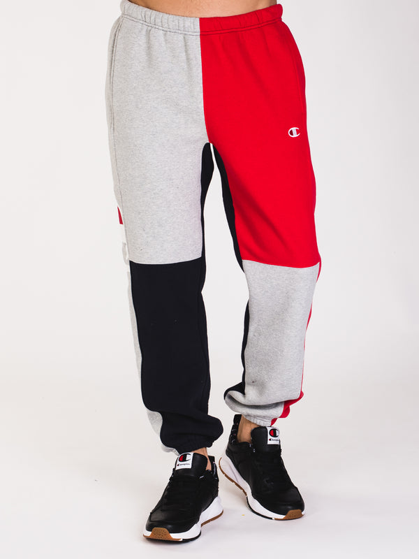 MENS REV C/B PANT - RED/NAVY