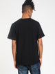 MENS HERITAGE CHN SHORT SLEEVE T-SHIRT- BLACK