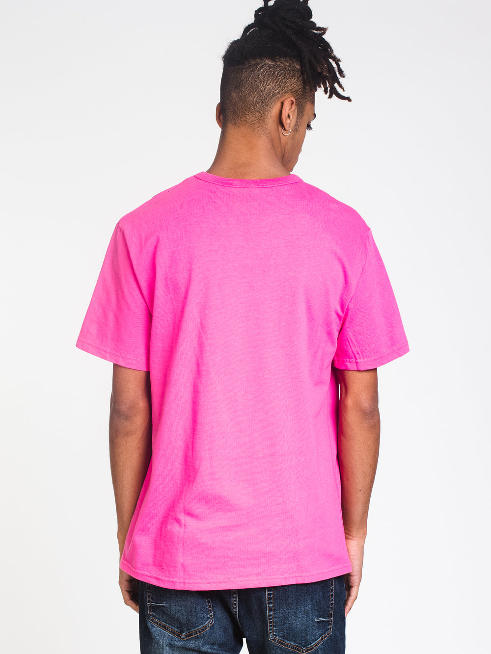 MENS HERITAGE CHN SHORT SLEEVE T-SHIRT- REEF PINK