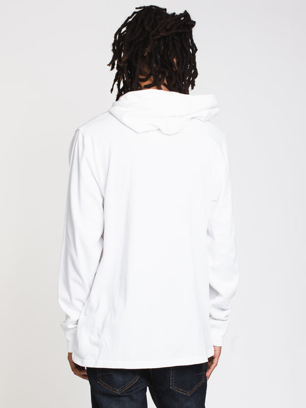 MENS MIDDLEWEIGHT CHM HOOD - WHITE