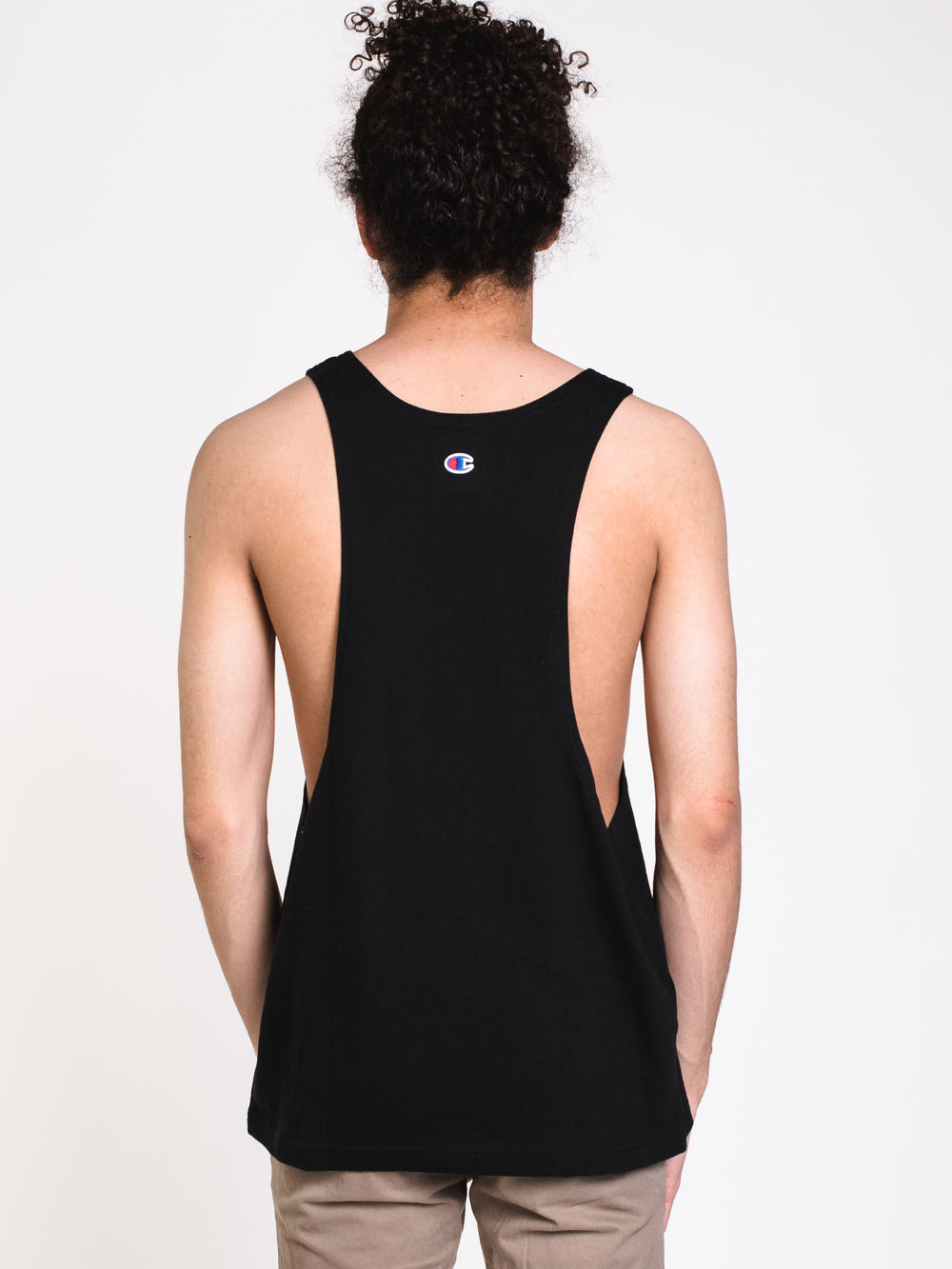 MENS HERITAGE MSCLE TANK - BLACK