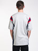 MENS FOOTBALL T - OXFORD GREY