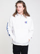 MENS PACKABLE LOGO JACKET - WHITE