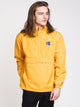 MENS PACKABLE LOGO JACKET - GOLD