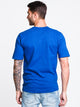 MENS HERITAGE FLEECEK SCRPT SHORT SLEEVE T-ROY