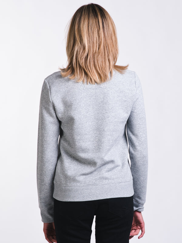 WOMENS EDI CREW SWEATSHIRT - GREY