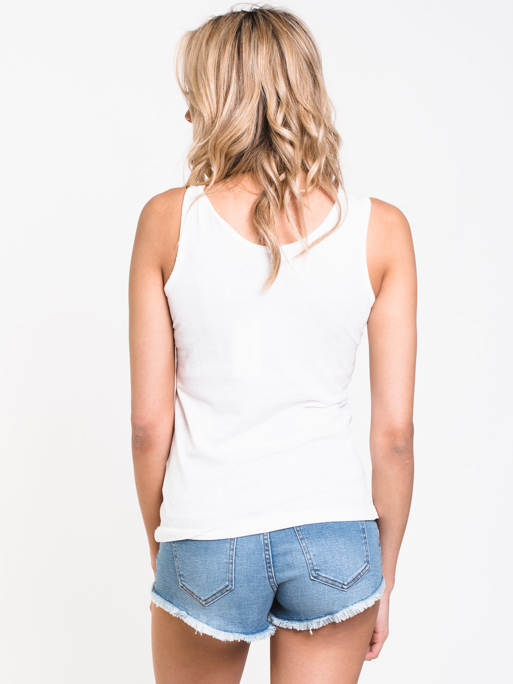 WOMENS INSTITUTIONAL TANK - WHITE