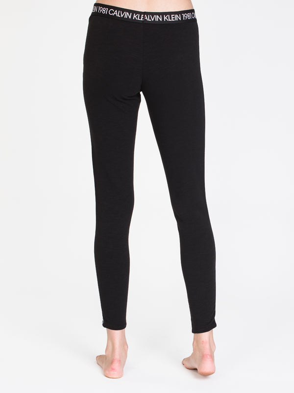 WOMENS 1981 BOLD TAPED LEGGING - BLK