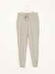 WOMENS ECO LOUNGE JOGGER - HTHR GREY