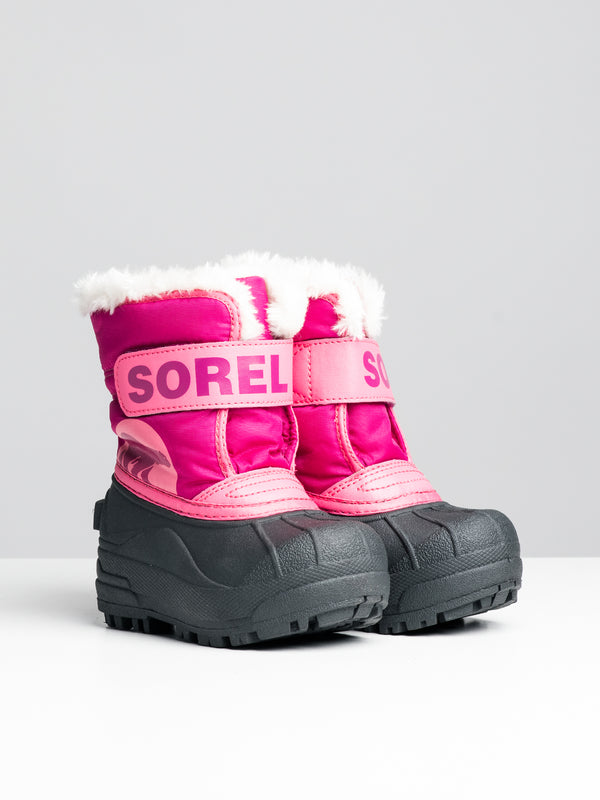KIDS SNOW COMMANDER - TROPIC PINK