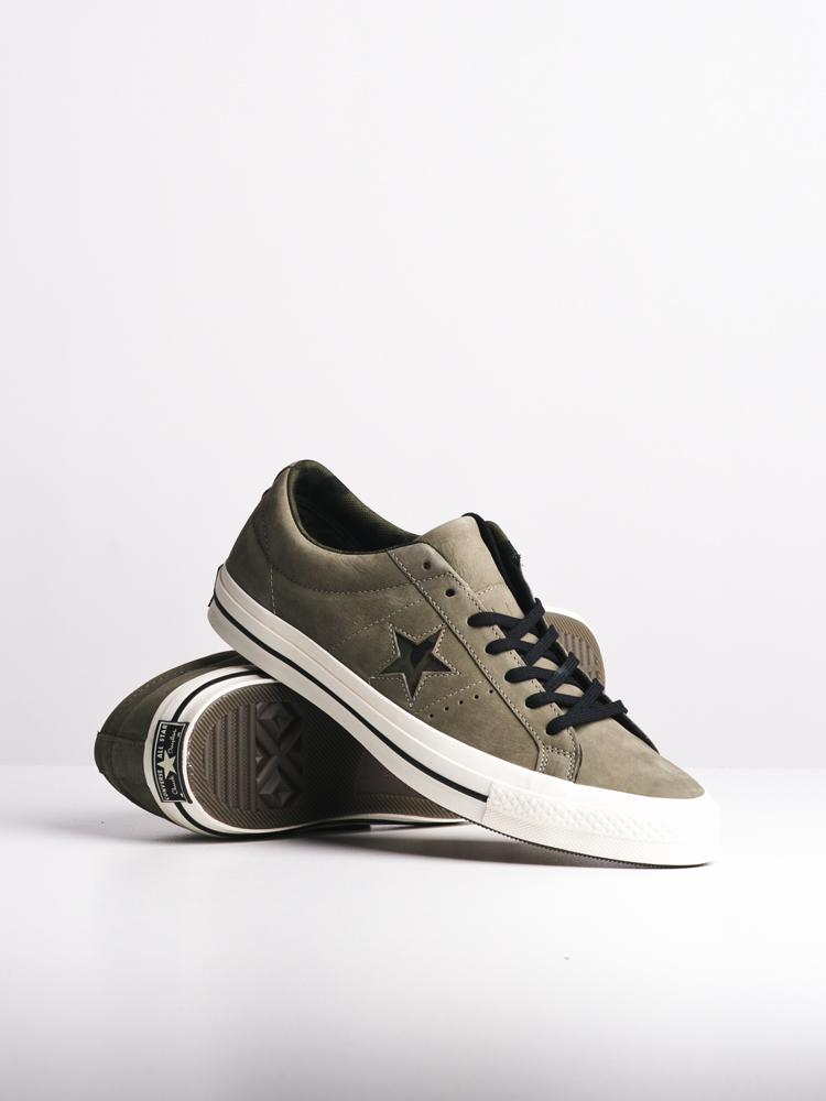 MENS ONE STAR DARK STUCCO SNEAKERS- CLEARANCE