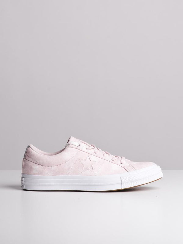 WOMENS ONE STAR BARELY ROSE SNEAKERS- CLEARANCE
