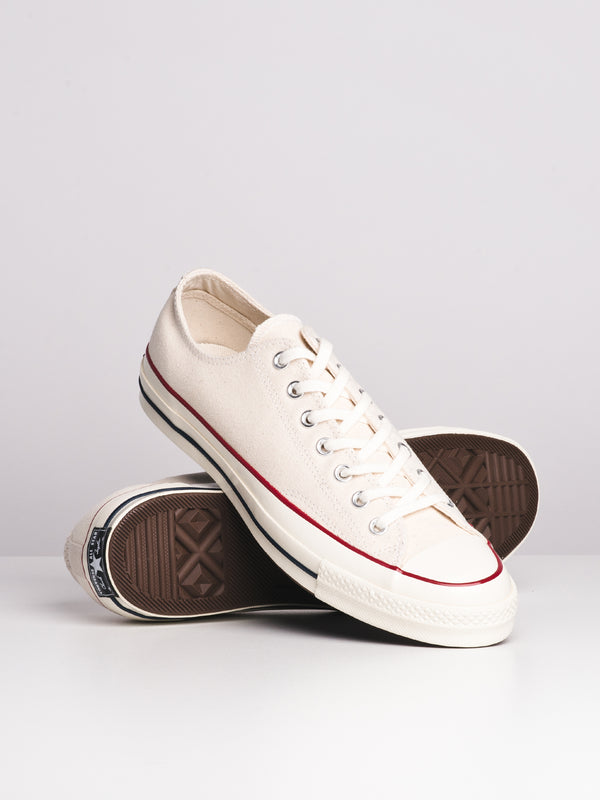 MENS CHUCK 70 VNTGE OX CANVAS - WHITE