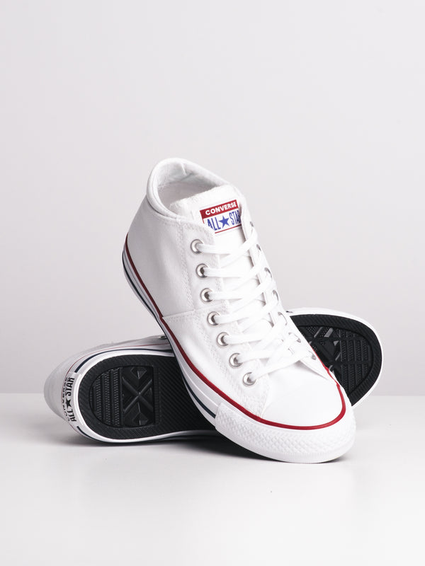 WOMENS CHUCK TAYLOR ALL-STARS MADISON MID CANVAS - WHITE