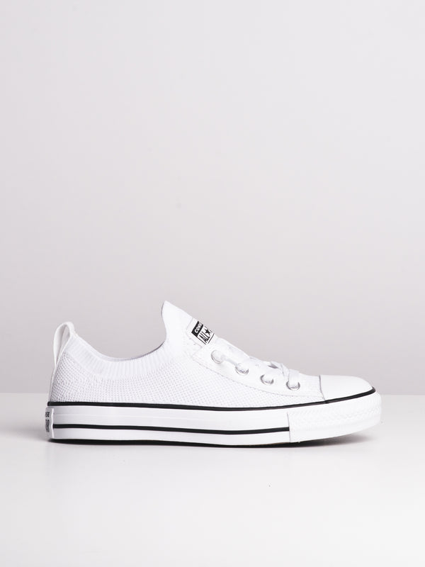 WOMENS CHUCK TAYLOR ALL-STARS SHORELINE KNIT - WHITE