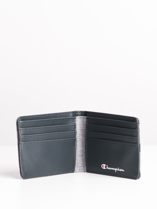 RHYME BIFOLD - HEATHER GREY
