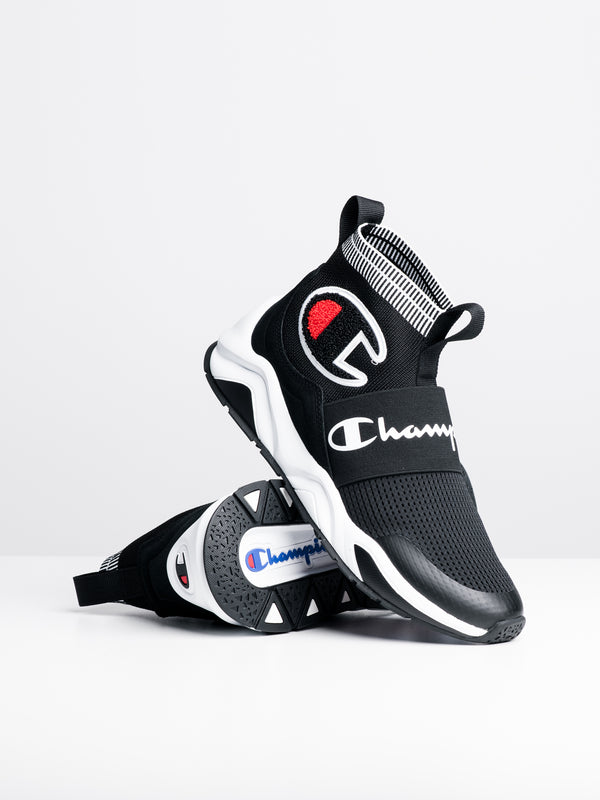 MENS RALLY PRO - BLACK/WHITE