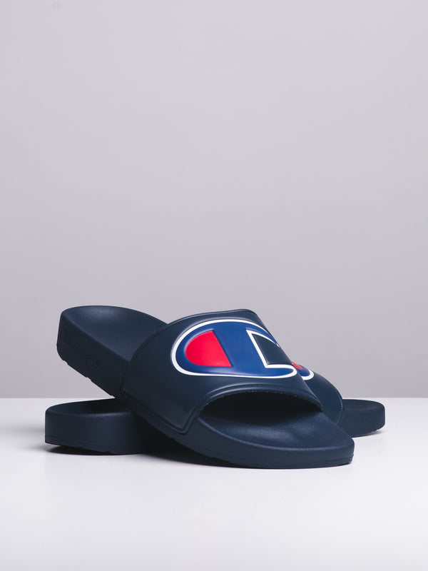MENS IPO - NAVY SLIDES