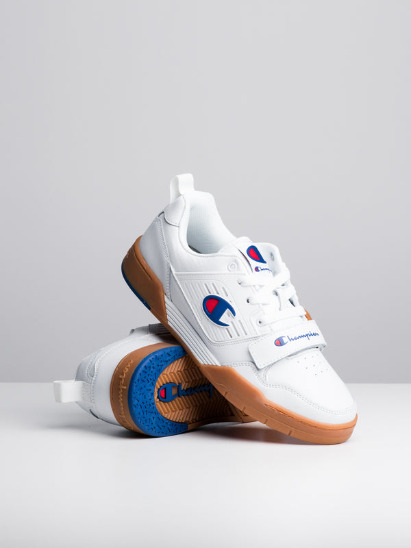MENS 3 ON 3 LOW - WHITE