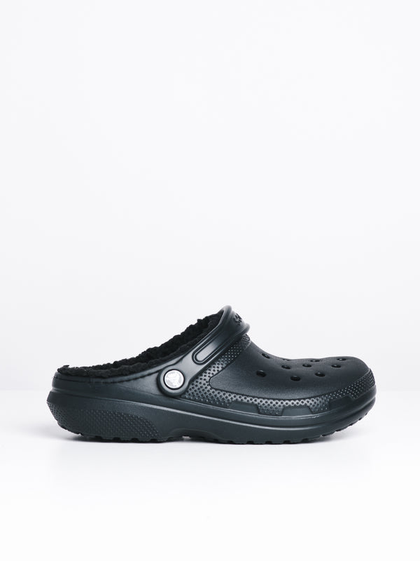 WOMENS CLASSIC LINED CLOG - BLACK
