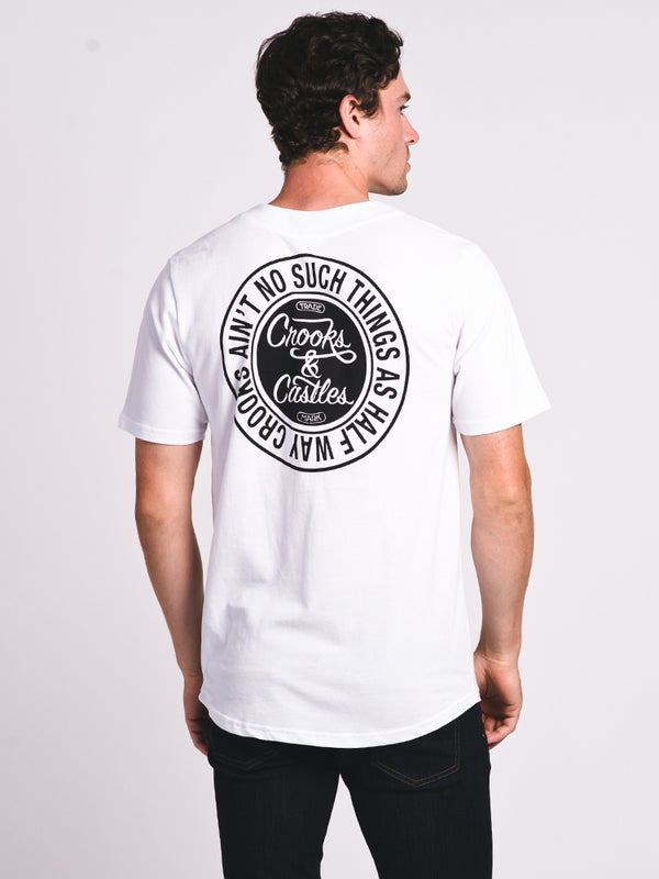 MENS AIN'T NO SUCH JERSEY - WHT/BLK