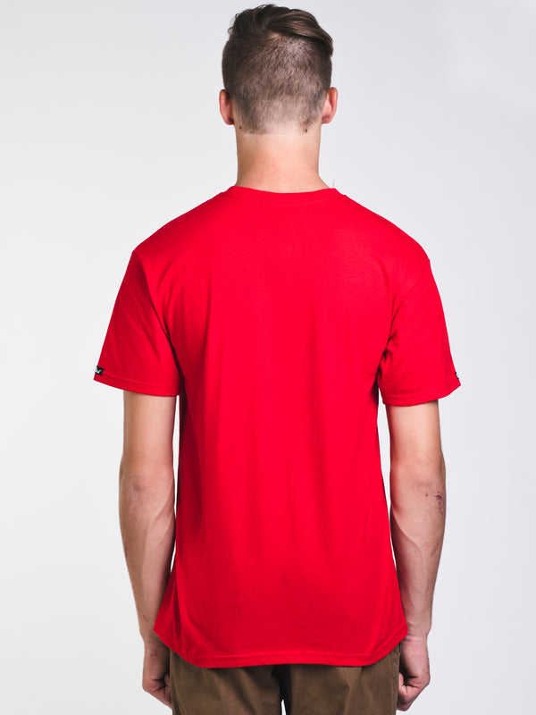 MENS KLEPTO 2 SHORT SLEEVE T-SHIRT - RED