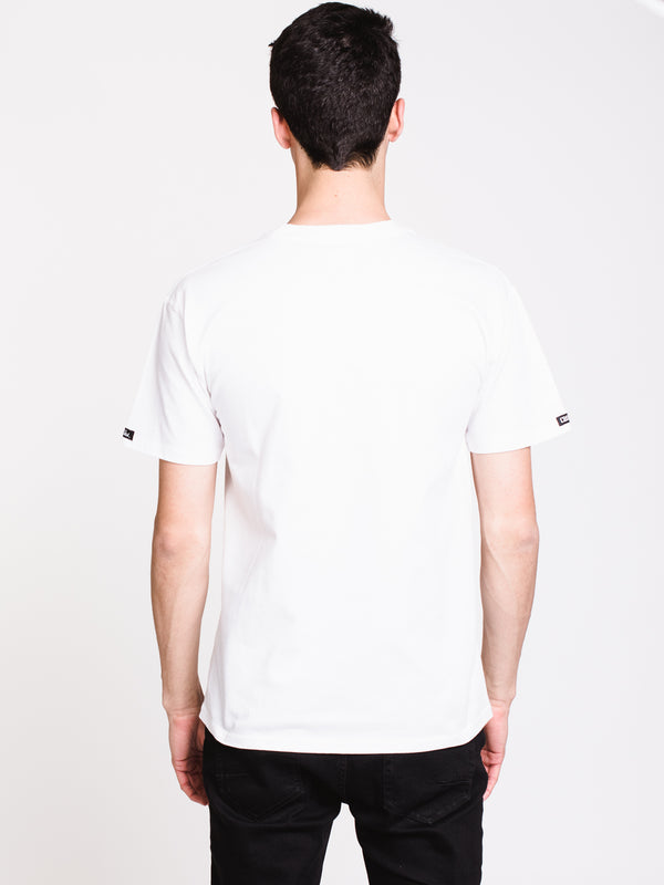 MENS OUTLINE KLEPTO SHORT SLEEVE T-SHIRT - WHITE