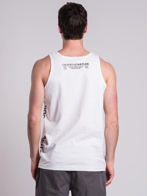 MENS RECOGNITION TANK  - CLEARANCE