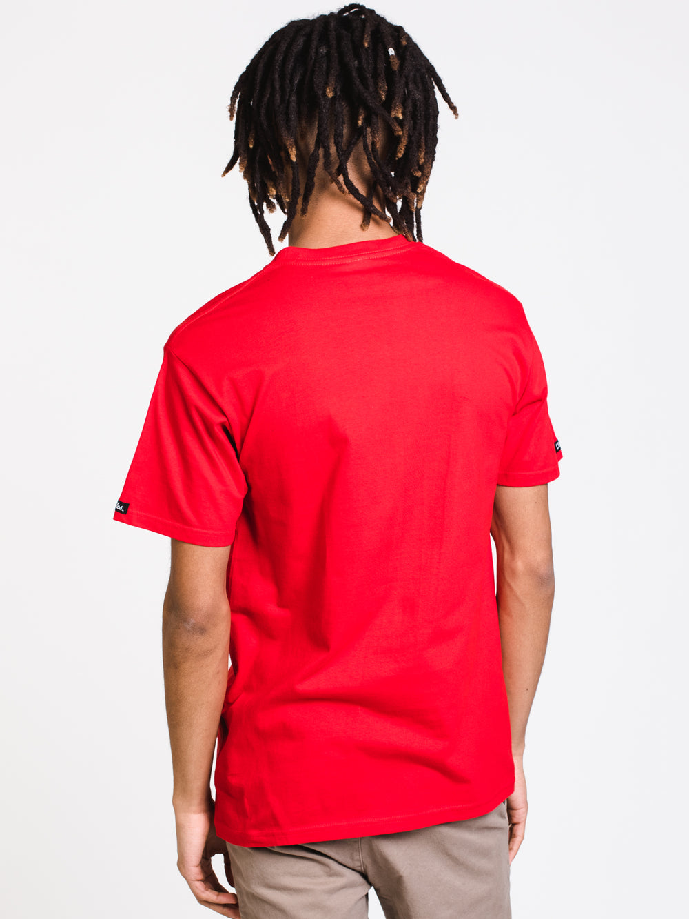 MENS SPORTY THIEF S/S T - RED