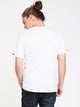MENS ROSES BLOCK S/S T - WHITE