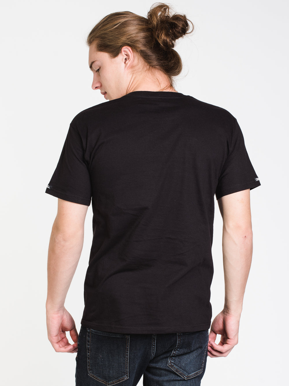 MENS REVOLT BANDUSA SHORT SLEEVE T-SHIRT - BLACK