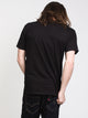 MENS SKULL MEDUSA SHORT SLEEVE T-SHIRT- BLACK