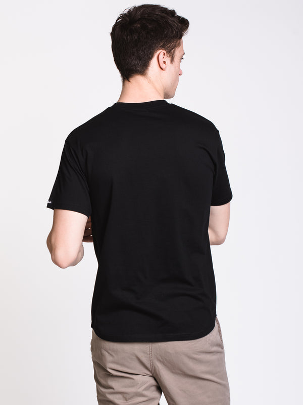 MENS COLLEGIATE APP SCALLOP SHORT SLEEVE T-SHIRT