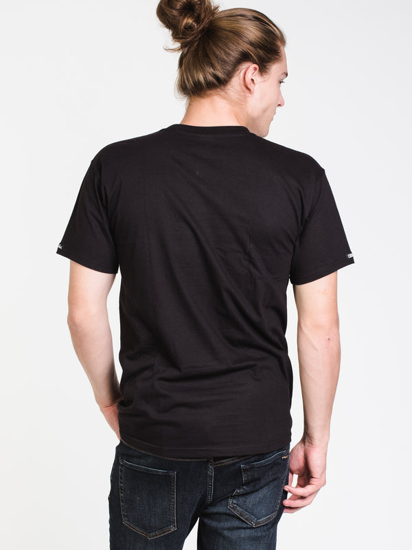 MENS GARDEN KLEPTO SHORT SLEEVE T-SHIRT - BLACK