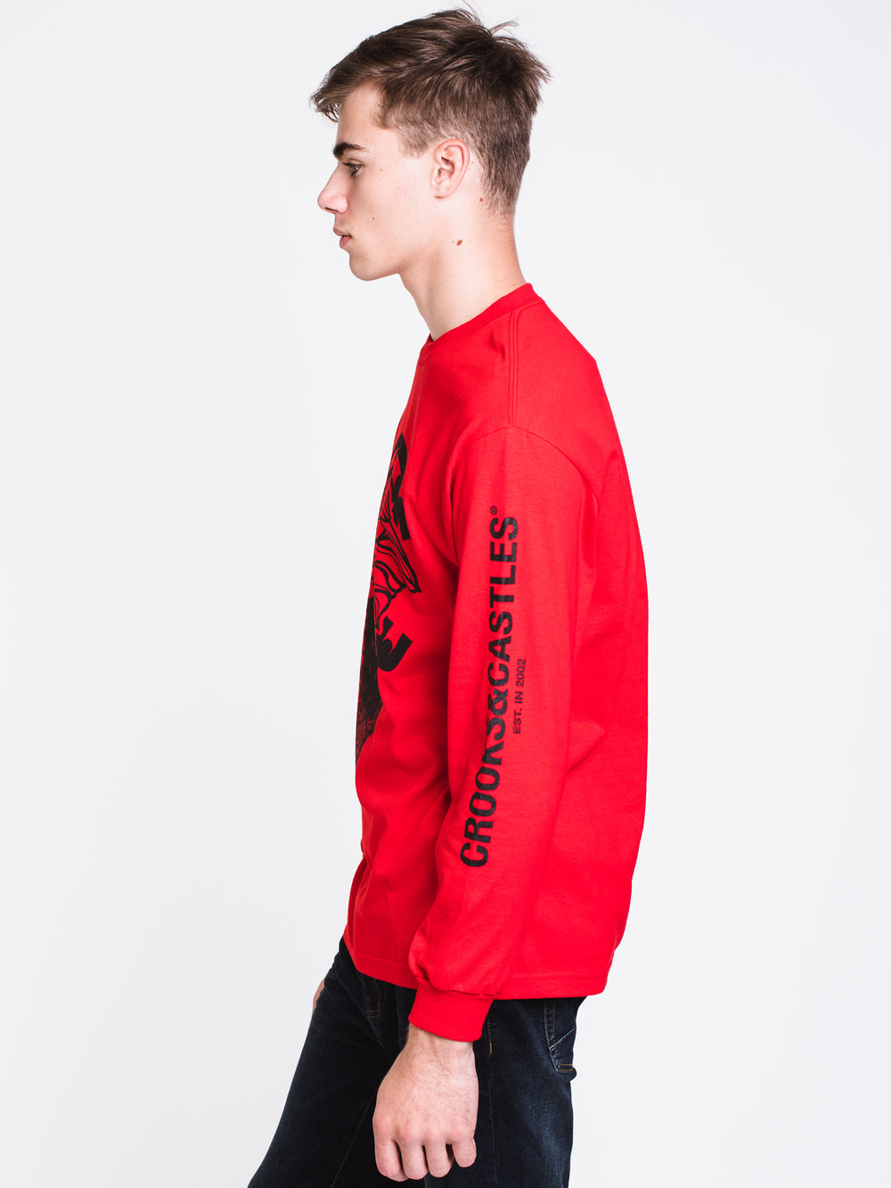 MENS CAN'T RESIST LONG SLEEVET-SHIRT- RED