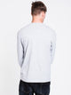 MENS DIS KLEPTO 19 LONG SLEEVET-SHIRT- HTHR GRY