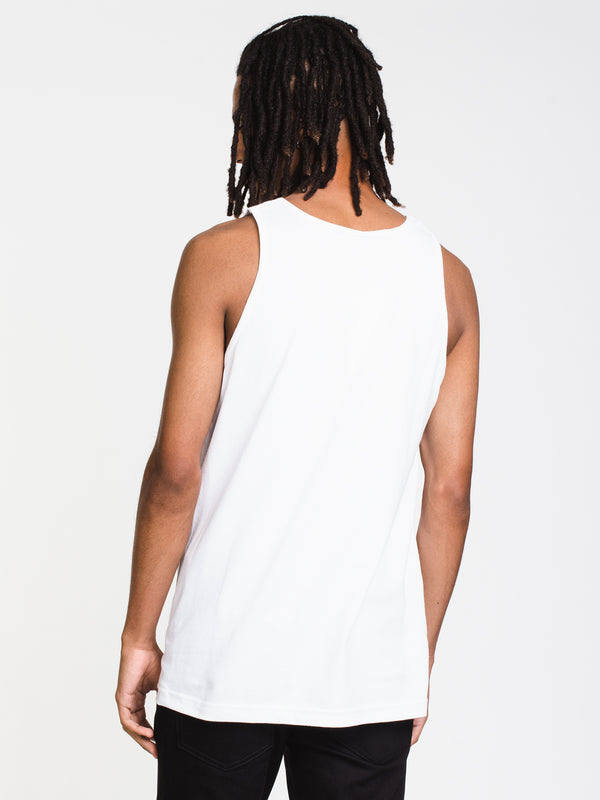 MENS NEW REVERSE CORE TANK - WHITE